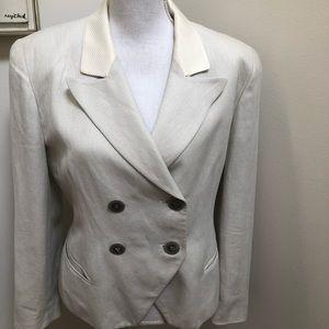 Vintage linen Dior Blazer